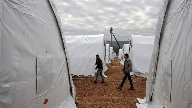 Hatay'da çadır kent kuruluyor