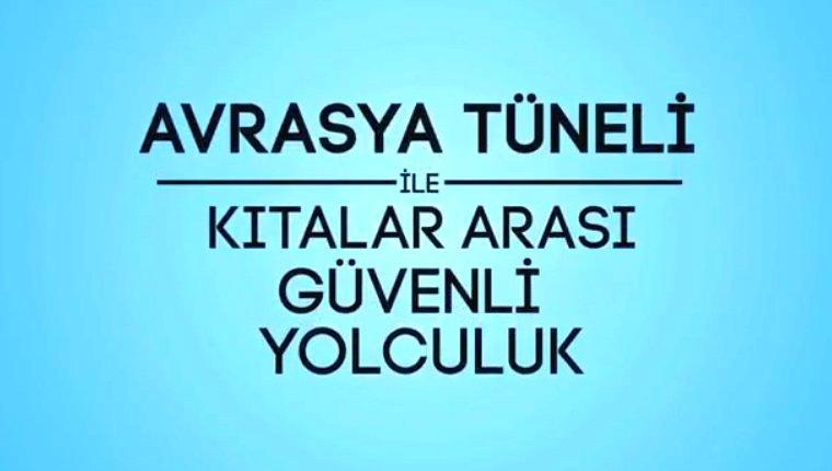Avrasya Tüneli'nde alınan güvenlik önlemleri!
