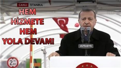 Cumhurbaşkanı Erdoğan: Sıradaki proje Kanal İstanbul