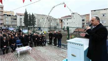 Bağcılar'daki Bedir Camii'nin temeli törenle atıldı