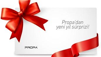Propa'dan müşterilerine yeni yıl sürprizi!