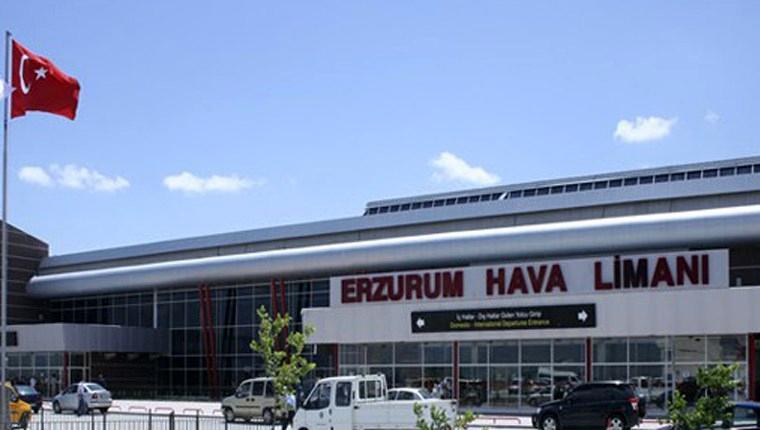 Erzurum'da uçakların inişlerini kolaylaştıracak yeni sistem