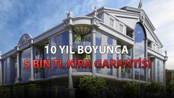 Manyetic Residence Apollon'da 10 yıl kira garantisi!
