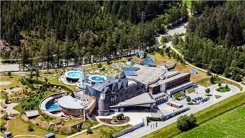 Avusturya'da Alpler'in ortasında yer alan muhteşem otel