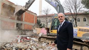 Bursa, yıkılan binalarla nefes alacak