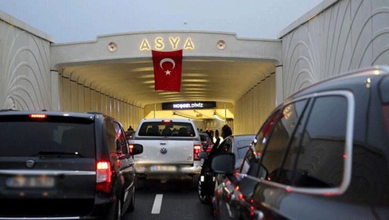 Avrasya Tüneli'nden bir günde 23 bin 938 araç geçti