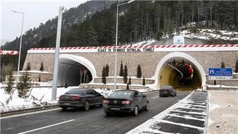 Ilgaz 15 Temmuz İstiklal Tüneli hizmete açıldı