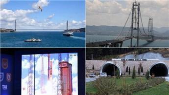 2016 yılında mega projeler hizmete açıldı