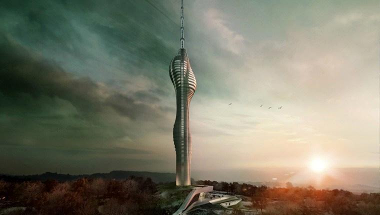 Çamlıca Televizyon Kulesi 6 ay sonra bitecek!