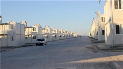 Sığınmacılar için yapılan konteyner kent tamamlanıyor