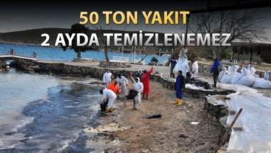 Çeşme kıyılarının temizlenmesi uzun sürecek!