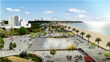 Konyaaltı Sahili Projesi yeniden ihaleye çıkıyor