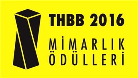 THBB 2016 Mimarlık Ödül Töreni 4 Ocak'ta yapılacak