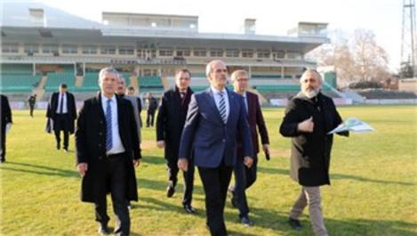 Bursa'nın meydan projesi için yıkımlar sürüyor