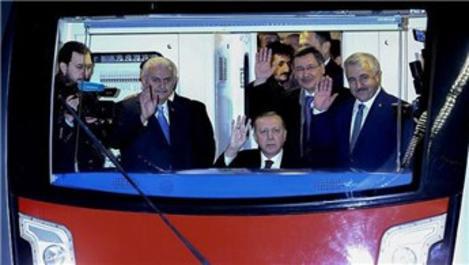 AKM-Keçiören Metrosu açıldı