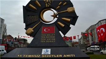 Bağcılar'da 15 Temmuz Şehitler Anıtı açıldı
