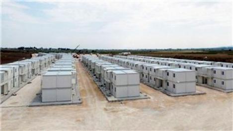 Yayladağı'ndaki çadır kentin sakinleri konteynere taşınacak
