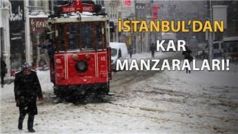 İstanbul'da kar 40 santimetreye kadar ulaştı