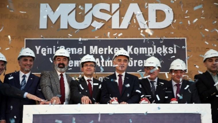MÜSİAD'a 8 katlı akıllı bina yapılıyor