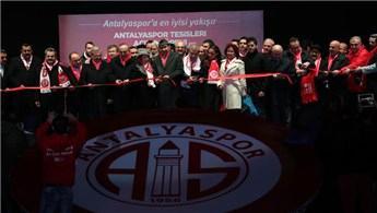 Antalyaspor Tesisleri hizmete girdi!