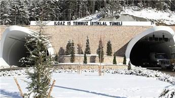 Ilgaz 15 Temmuz İstiklal Tüneli ile ulaşım sorunu bitti