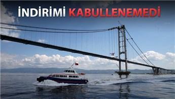 Osmangazi Köprüsü ile İDO mahkemelik oluyor!