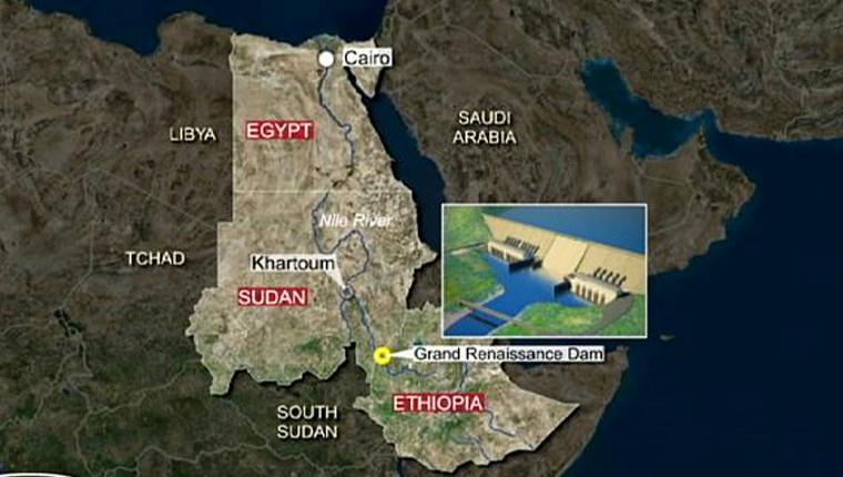Etiyopya'daki Rönesans Barajı'nın yarısı tamamlandı!
