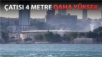 Beşiktaş'ın stadı Vodafone Arena'nın çatısına onay!