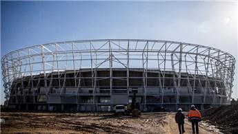 Yeni Adana Stadı'nın yüzde 75'i tamamlandı