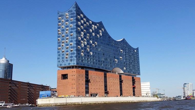 Almanya'nın 3,2 milyar TL'lik konser salonu tamamlandı