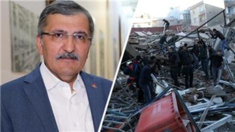 Zeytinburnu Belediyesi'nden yıkılan bina ile ilgili açıklama