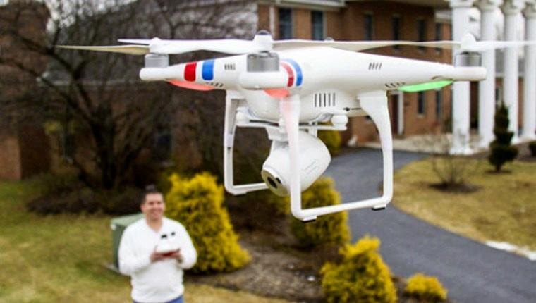 Drone'lar ile dairelerin manzaralarını görmek mümkün