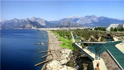 Antalya Konyaaltı Sahili projesinde ihale aşamasına mı geçiliyor?