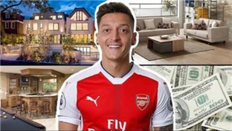 Mesut Özil'in evi görüntülendi!