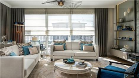 Deniz İstanbul Mercan Konakları'nın örnek dairesi hazır!