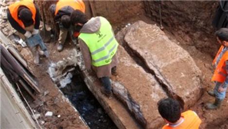 Milas'ta inşaat alanında oda mezara rastlandı