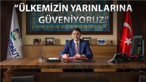 """Murat Kurum """"Şantiyeler durmasın, yatırımlar hızlansın"""""""