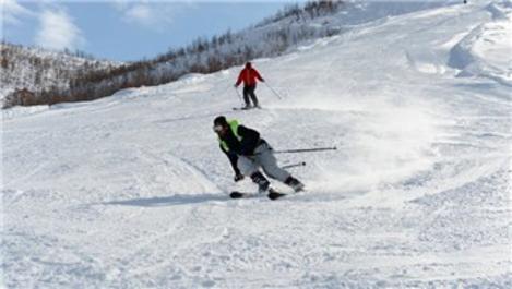 Ovacık'ın kayak merkezi yeni cazibe merkezi oldu
