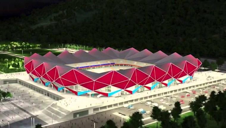 Trabzonspor, yeni stadına 'merhaba' dedi