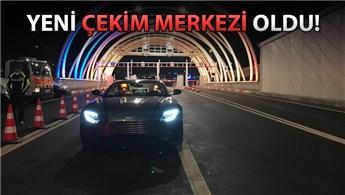 Mustafa Ceceli, Avrasya Tüneli'nde klip çekti