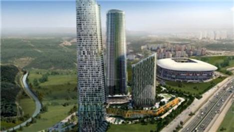Skyland İstanbul'da Otis asansörleri kullanılıyor