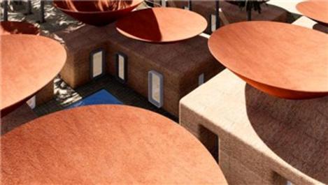 Kuraklığa karşı içbükey çatılar oluşturuluyor
