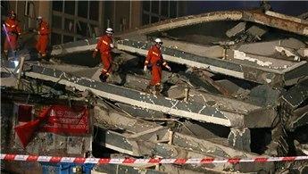 Çin'de 5 katlı bina çöktü