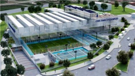 Türkiye'nin ilk Leed Gold adayı spor kompleksi inşa ediliyor