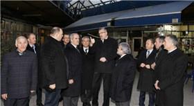 Bursa'daki eski balık pazarı modernize ediliyor