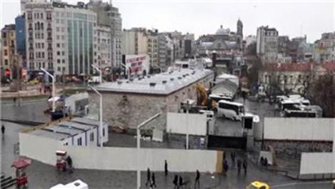 Taksim Camisi için çalışmalar başladı!