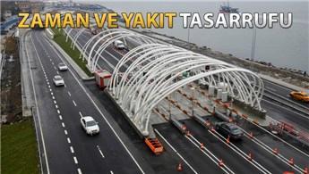 Avrasya Tüneli'nden 1 milyon araç geçti!