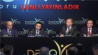 Decovita'nın yeni fabrika yatırımı tanıtıldı