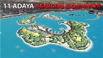 İstanbul'da Pendik açıklarına 3 yeni ada yapılacak!