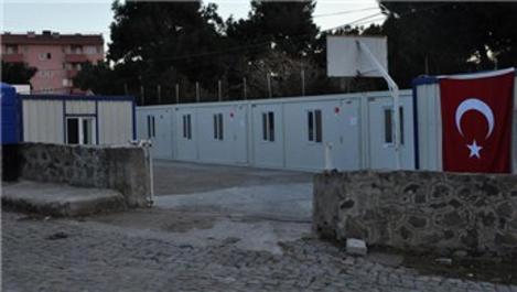 Çanakkale'de konteyner okullar kuruluyor